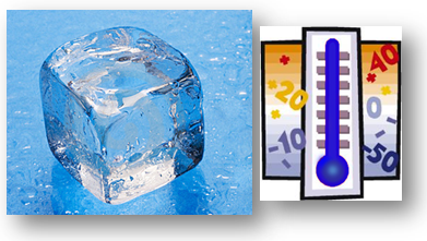 humidité de condensation - glacon